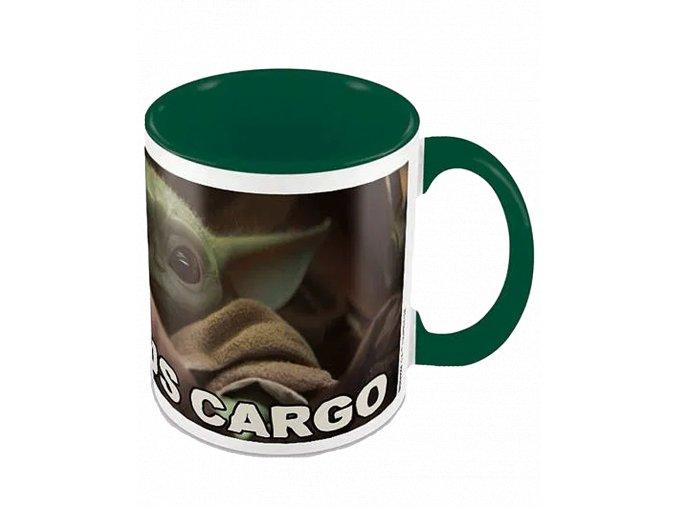 Hrnek Star Wars - Mandalorian: Precious Cargo (Baby Yoda, 315 ml)
