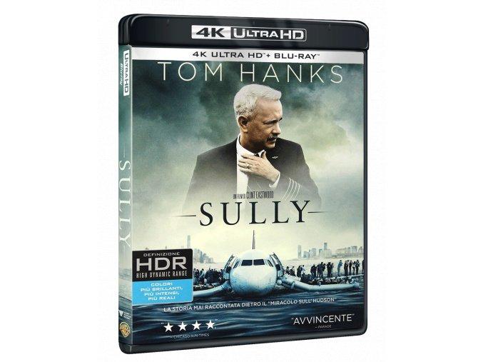 Sully: Zázrak na řece Hudson (4k Ultra HD Blu-ray + Blu-ray, CZ pouze na UHD)