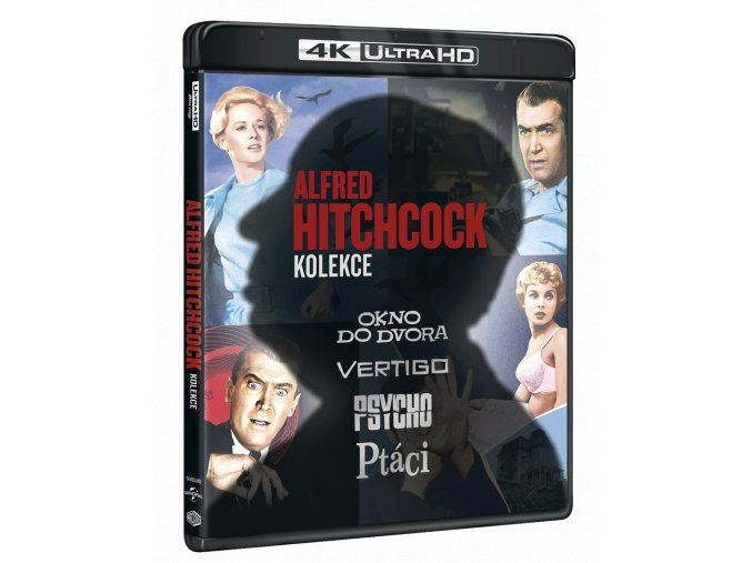 alfred hitchcock kolekce 4k ultra hd blu ray