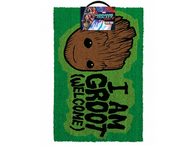 Rohožka Marvel: Strážci galaxie 2 - I am Groot (60 x 40 cm)