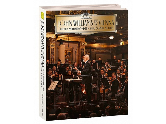 John Williams: Live in Vienna (Deluxe Edition, Blu-ray + CD, Digibook)