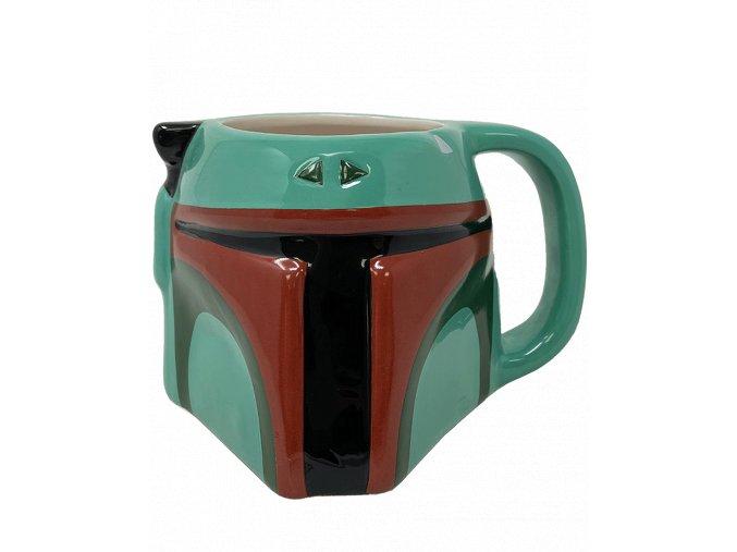 3D Hrnek Star Wars: Boba Fett (385 ml)