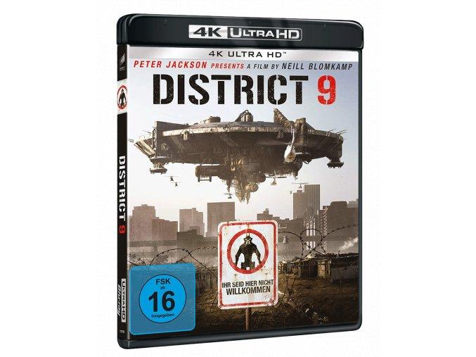 District 9 (4k Ultra HD Blu-ray + Blu-ray, CZ titulky pouze na UHD)
