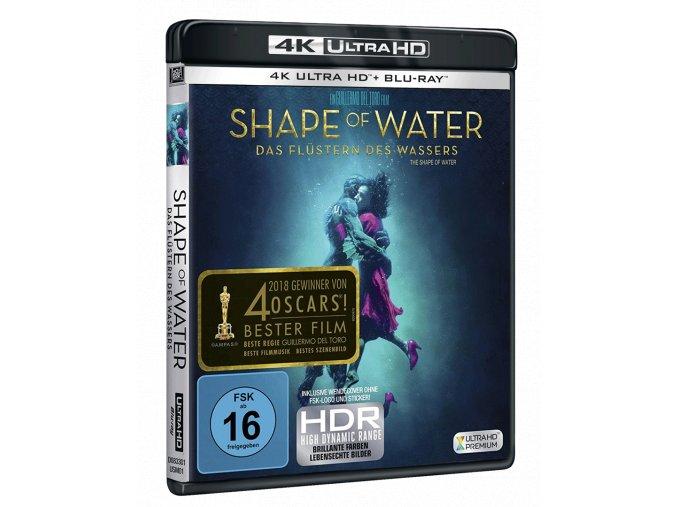 Tvář vody (4k Ultra HD Blu-ray + Blu-ray, CZ pouze na UHD)