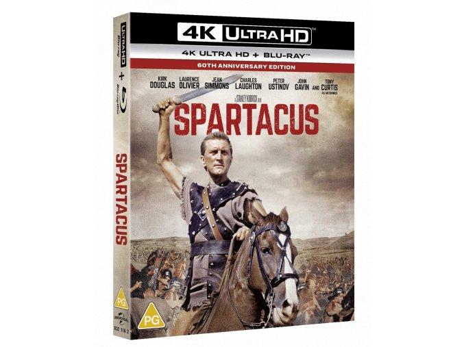 Spartakus (4k Ultra HD Blu-ray + Blu-ray, CZ pouze na UHD)
