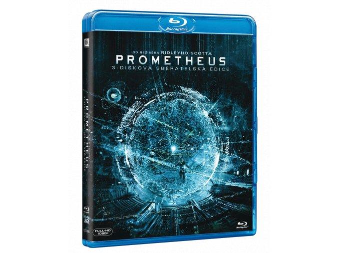 Prometheus (Blu-ray 3D + 2x Blu-ray 2D)