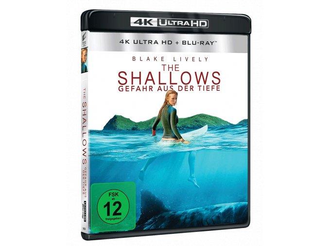 Mělčiny (4k Ultra HD Blu-ray + Blu-ray, CZ pouze na UHD)