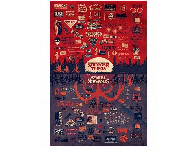 Plakát Stranger Things: Hlášky (91.5 x 61 cm)