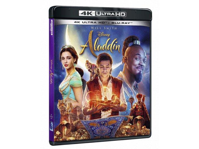Aladin (4k Ultra HD Blu-ray + Blu-ray, CZ pouze na Blu-ray)