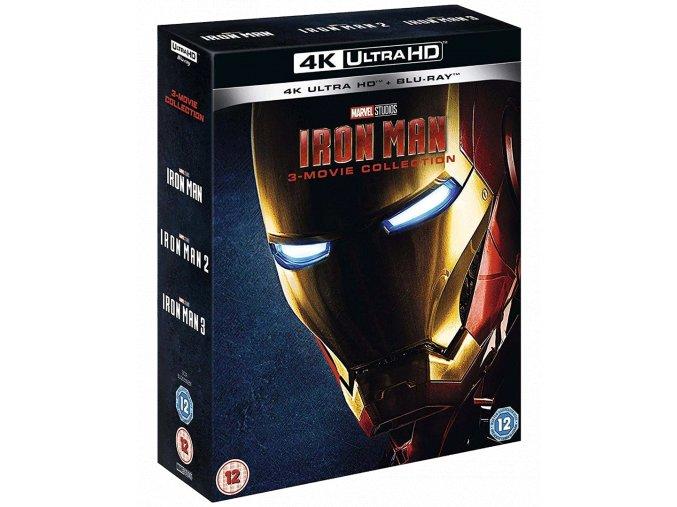 Iron Man (Trilogie, 3x 4k Ultra HD Blu-ray + 3 Blu-ray, Bez CZ)