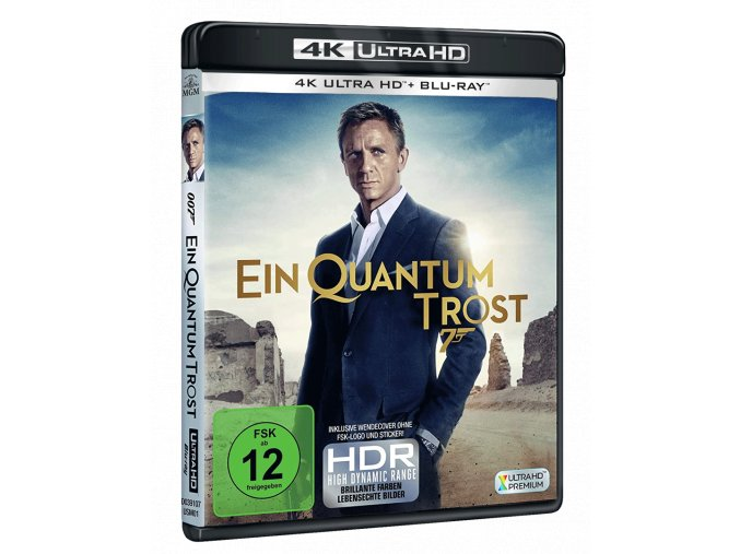 Quantum of Solace (4k Ultra HD Blu-ray + Blu-ray, CZ pouze na UHD)