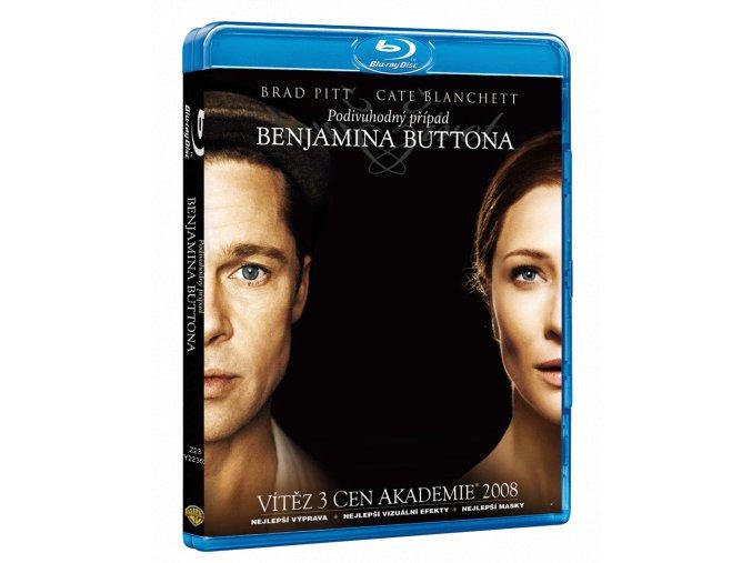Podivuhodný případ Benjamina Buttona (Blu-ray)
