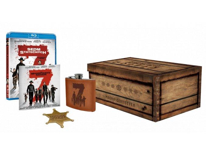 Sedm statečných (2016) - Sběratelská edice (Blu-ray)