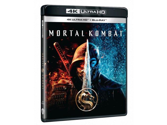 Mortal Kombat (4k Ultra HD Blu-ray + Blu-ray)