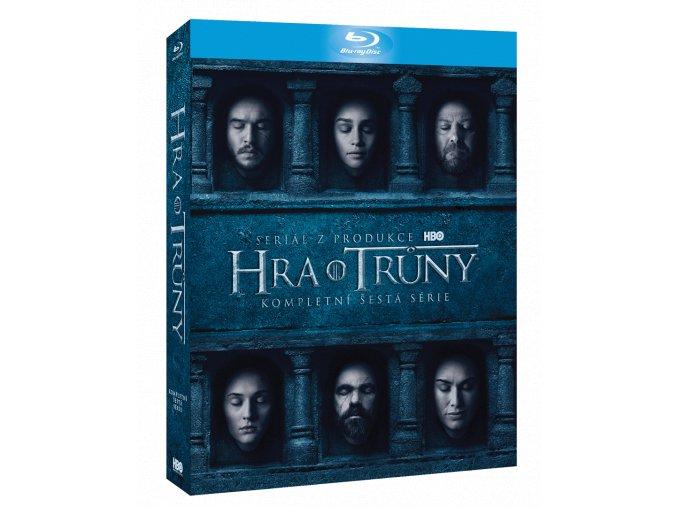Hra o trůny - 6. sezóna (Blu-ray)