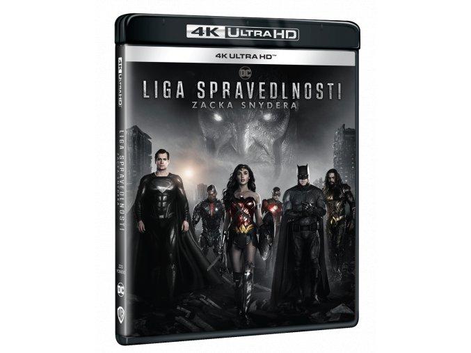 Liga spravedlnosti Zacka Snydera (2x 4k Ultra HD Blu-ray)