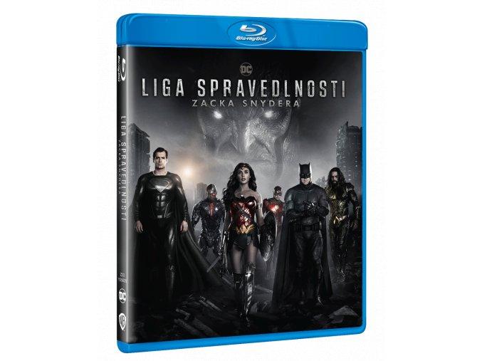 Liga spravedlnosti Zacka Snydera (2x Blu-ray)