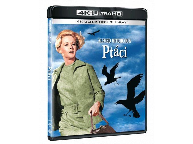 Ptáci (4k Ultra HD Blu-ray + Blu-ray)