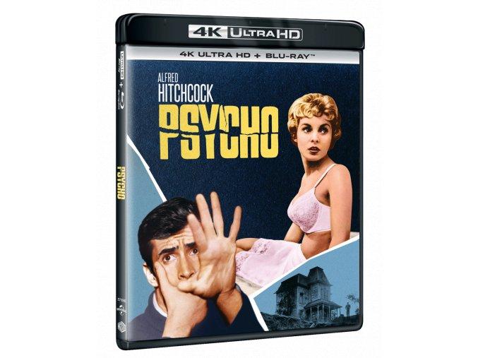 Psycho (4k Ultra HD Blu-ray + Blu-ray)