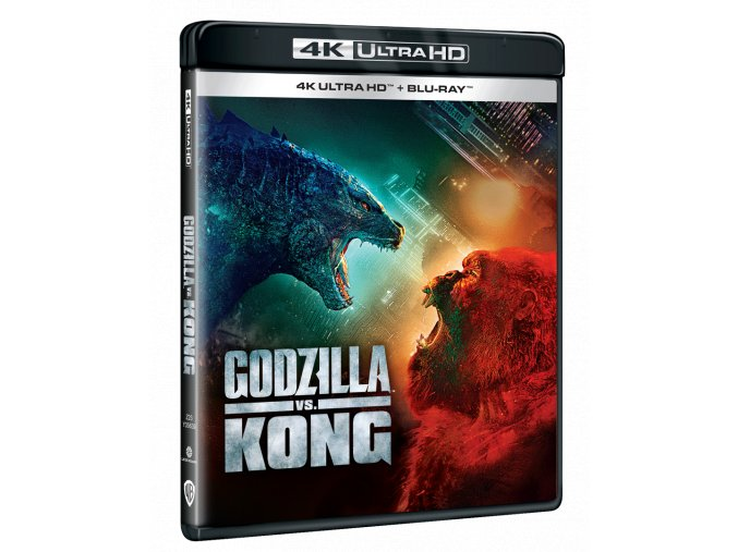 Godzilla vs. Kong (4k Ultra HD Blu-ray + Blu-ray)