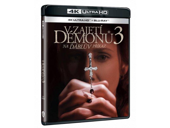 V zajetí démonů 3: Na Ďáblův příkaz (4k Ultra HD Blu-ray + Blu-ray)