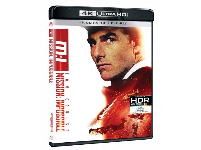 Mission: Impossible (4k Ultra HD Blu-ray + Blu-ray)