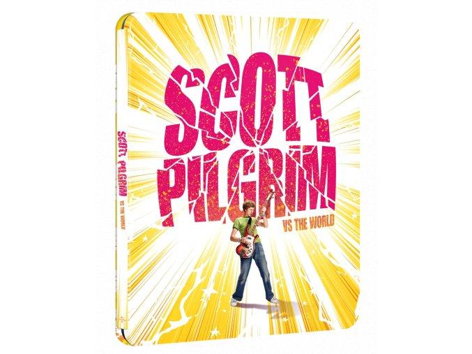 Scott Pilgrim proti zbytku světa (4k Ultra HD Blu-ray + Blu-ray, Steelbook, CZ pouze na UHD))