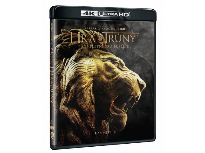 Hra o trůny - 2.sezóna (4x 4k Ultra HD Blu-ray)