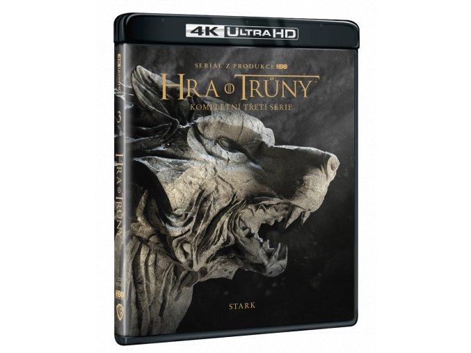 Hra o trůny - 3. sezóna (4x 4k Ultra HD Blu-ray)