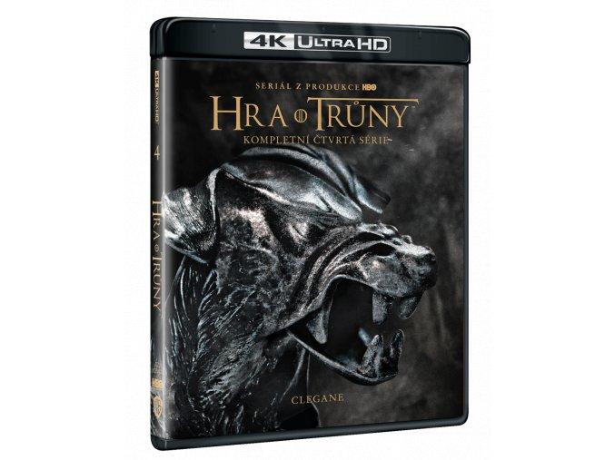 Hra o trůny - 4. sezóna (4x 4k Ultra HD Blu-ray)
