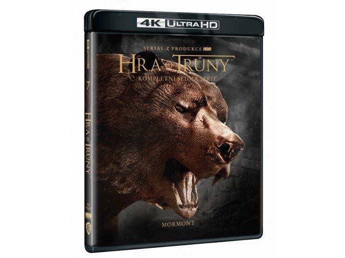 Hra o trůny - 7. sezóna (4x 4k Ultra HD Blu-ray)