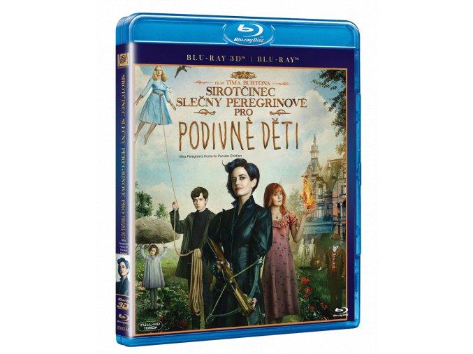 Sirotčinec slečny Peregrinové pro podivné děti (Blu-ray 3D)