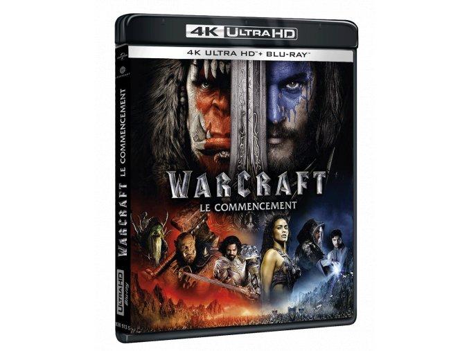 Warcraft: První střet (4k Ultra HD Blu-ray + Blu-ray)