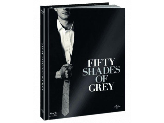Padesát odstínů šedi (Blu-ray, Digibook)