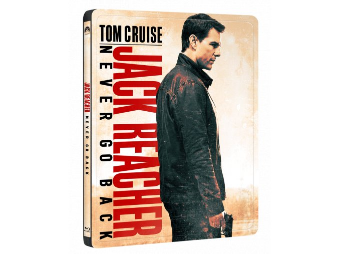Jack Reacher: Nevracej se (Blu-ray, Steelbook)