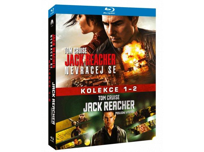 Jack Reacher (Blu-ray kolekce 1-2)