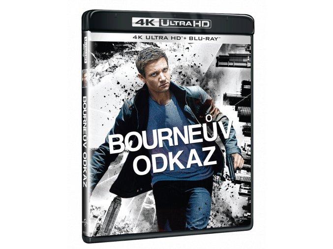 Bourneův odkaz (4k Ultra HD Blu-ray)