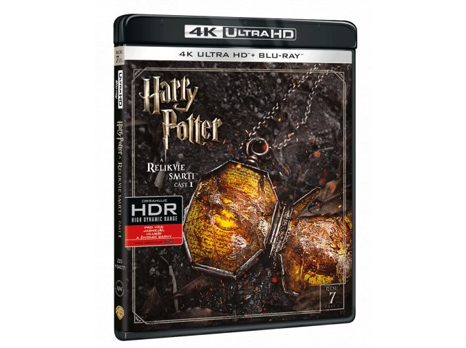 Harry Potter a Relikvie smrti - část 1. (4k Ultra HD Blu-ray + Blu-ray)