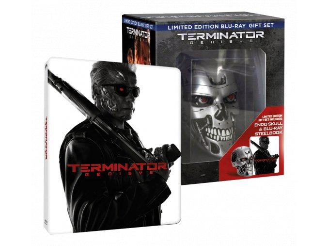Terminator Genisys (Sberatelska edice, Steelbook, Blu-ray 3D + 2x Blu-ray 2D)