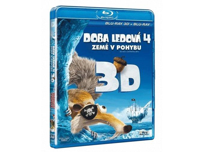 Doba ledová 4: Země v pohybu (2x Blu-ray 3D + 2D)
