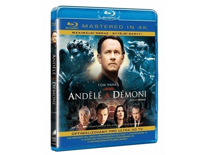 Andělé a démoni (Blu-ray, Mastered in 4k)