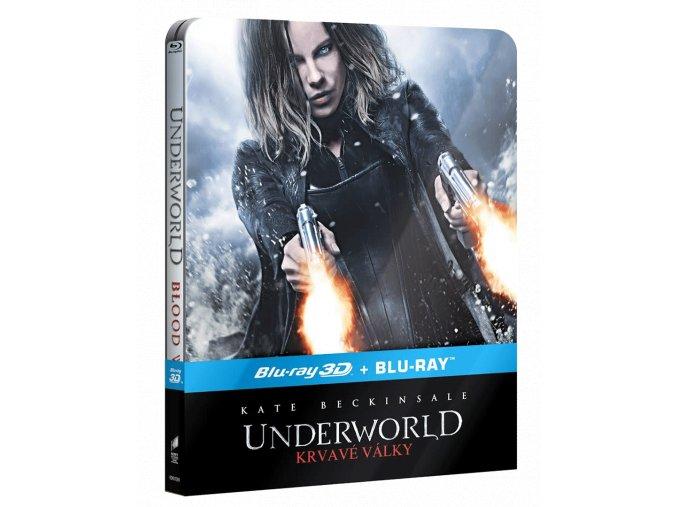 Underworld: Krvavé války (Blu-ray 3D, Steelbook)