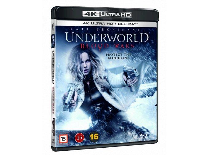 Underworld: Krvavé války (4k Ultra HD Blu-ray + Blu-ray, CZ pouze na UHD)