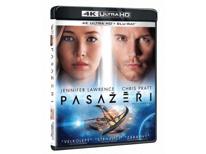 Pasažéři (4k Ultra HD Blu-ray + Blu-ray)