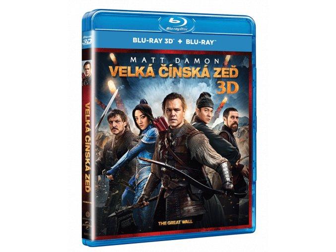 Velká čínská zeď (Blu-ray 3D + Blu-ray)