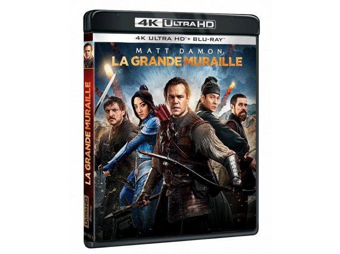 Velká čínská zeď (4k Ultra HD Blu-ray + Blu-ray)