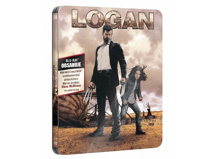 Logan (Blu-ray, Steelbook)