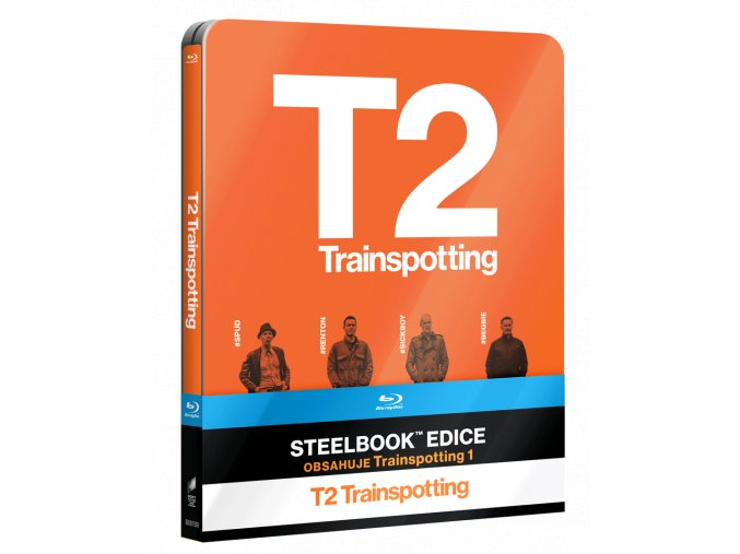 Trainspotting a Trainspotting 2 (Steelbook, 2x Blu-ray)