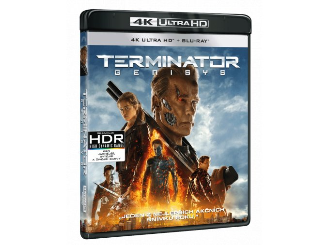 Terminátor: Genisys (4k Ultra HD Blu-ray + Blu-ray)