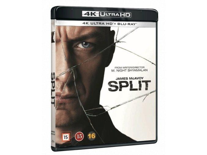 Rozpolcený (4k Ultra HD Blu-ray + Blu-ray)